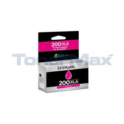 LEXMARK NO 200XLA RP INK CART MAGENTA HY